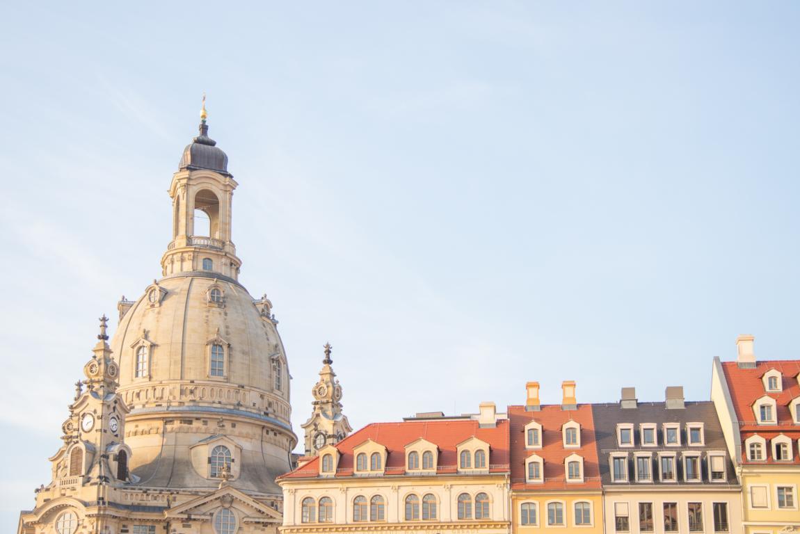 Frauenkirche Neumarkt Wochenende_Ausflug_Trip_Dresden