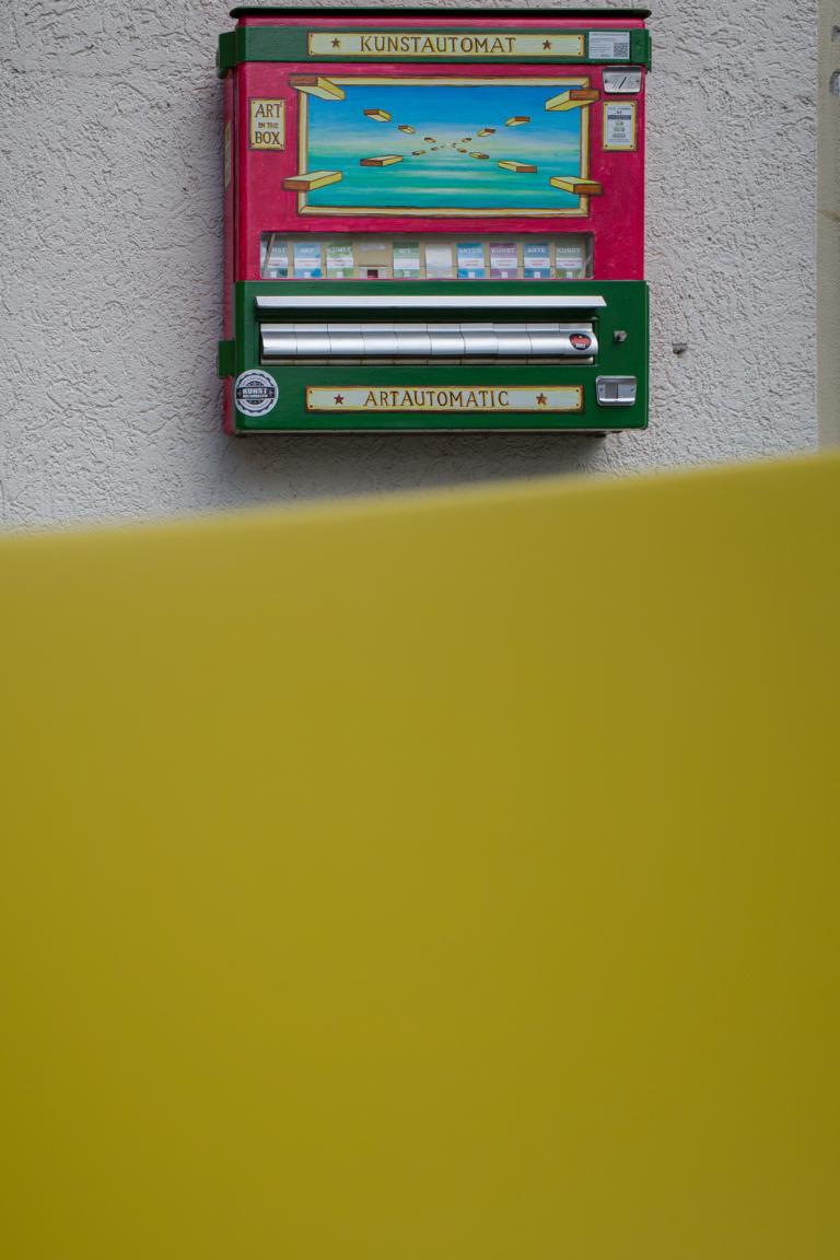 Kunstautomat Ulm street photography Blog unephotodeceline