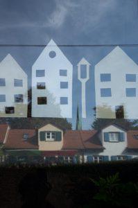 Häuser Stadtmauer Ulm unephotodeceline