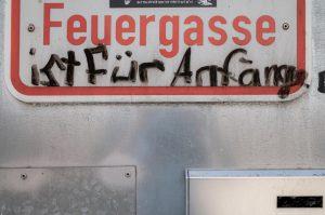 Feuergasse Anfänger Streetart Ulm Blog unephotodeceline