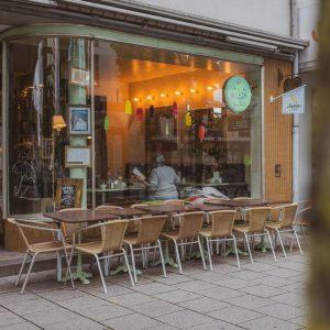 Terrasse Café Test Ulm Blog Serie coffeehäusle Naschkatze unephotodeceline