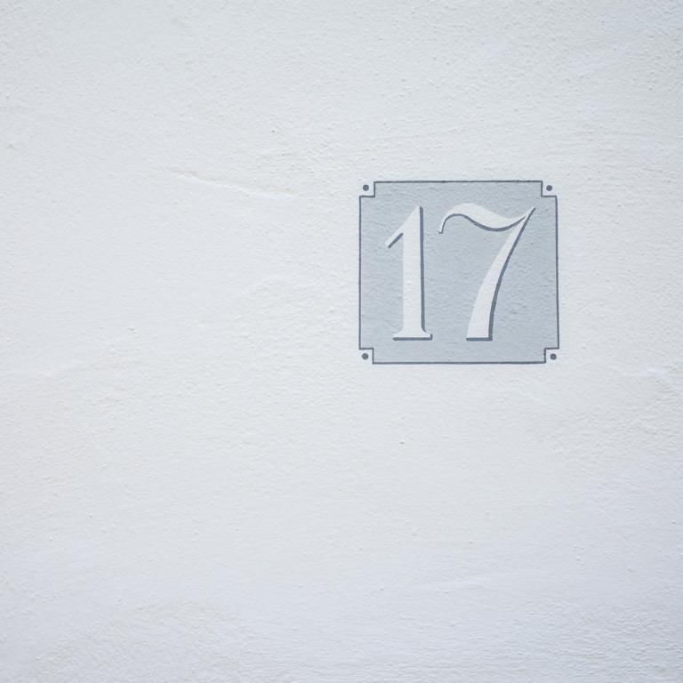 Nummer Siebzehn Hausnummer Ulm street photography Blog unephotodeceline