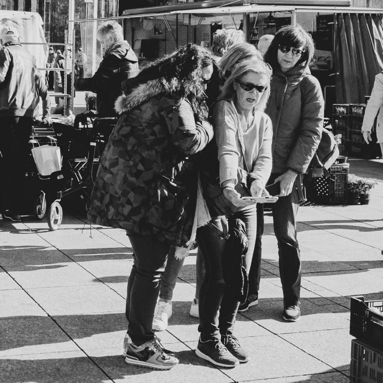 selfie markt Ulm street photography Blog unephotodeceline