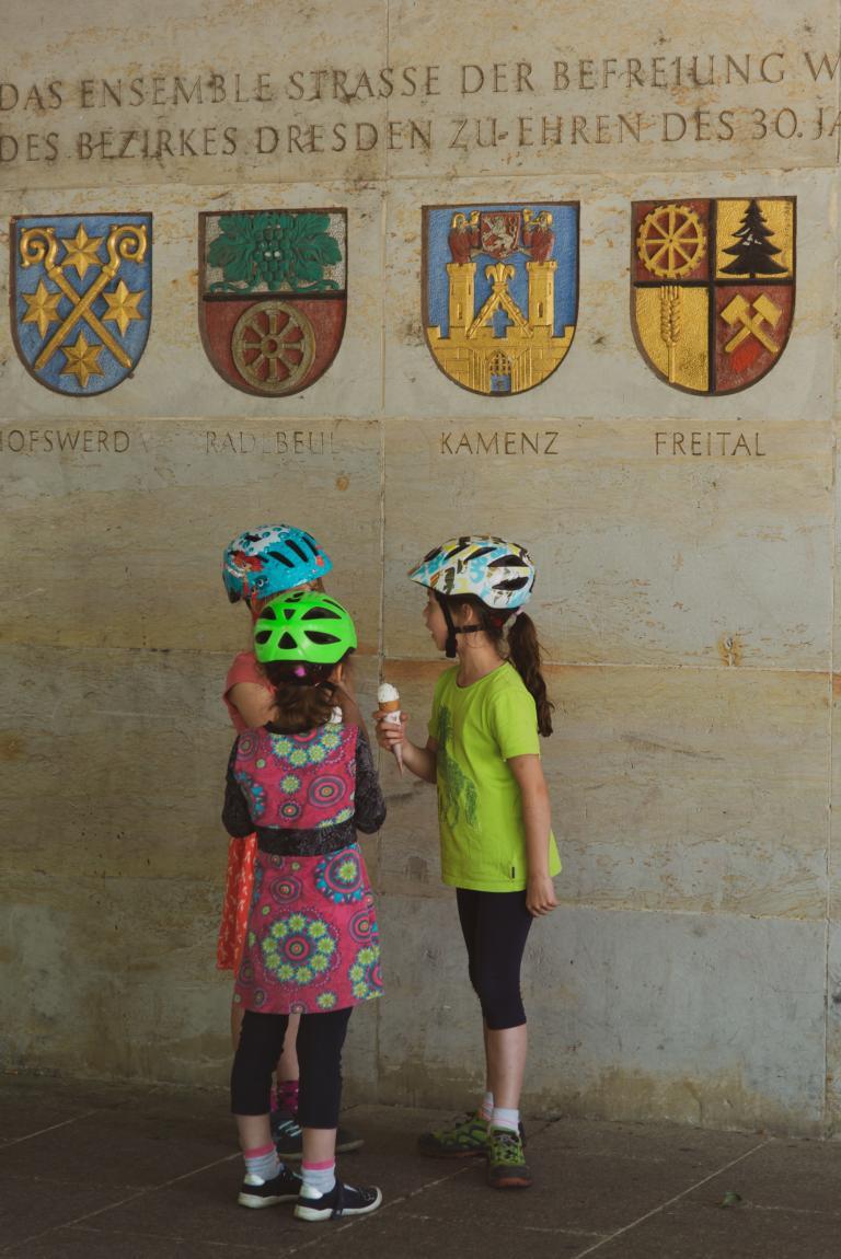 Eis, Fahrradhelm, Wochenendausflug, Trip, Dresden | unephotodeceline
