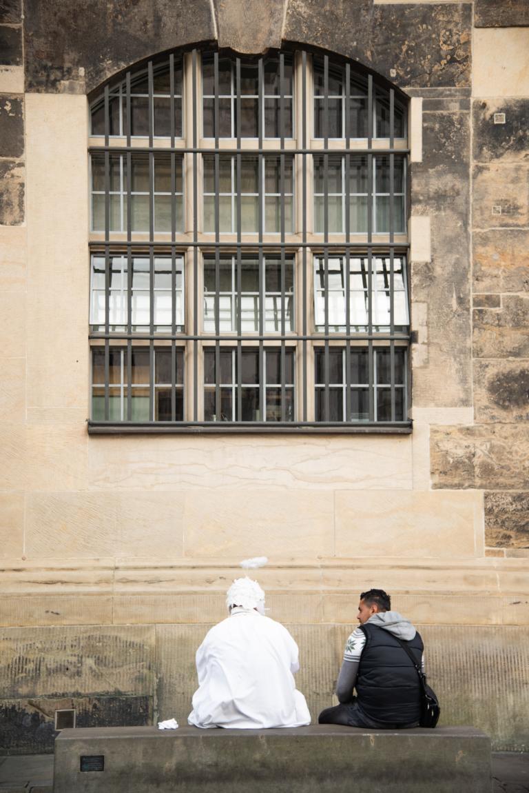 Engel, Pause, Wochenendausflug, Trip, Dresden | unephotodeceline